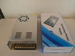 Блок питания адаптер 12 вольт 20 ампер