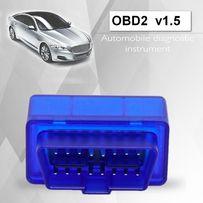 автомобильный сканер ELM 327 Bluetooth диагностика V2.1/v1.5, OBD2