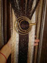 """Штори-нити """"Радуга- люрекс,вертикальная,спираль"""".Размер штор 3*3"""