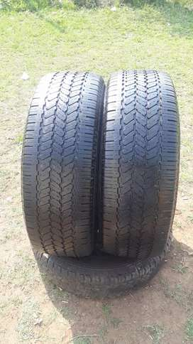 16 inch tyres 265/70/16