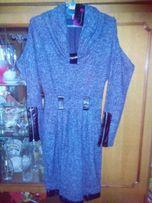 Новое шерстяное платье.