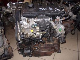 двигатель двигун мотор 1.9 D dw8 фиат скудо,пежо партер експерт