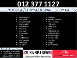 Jeep/Dodge/Chrysler new and used body spares for sale
