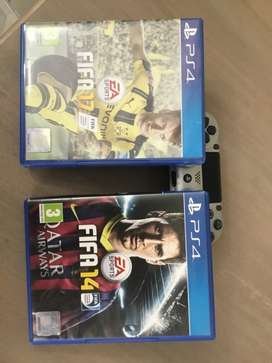 FIFA 14 and 17