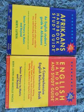 English and Afrikaans study guide