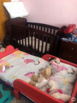 Baby cot and toddler bed