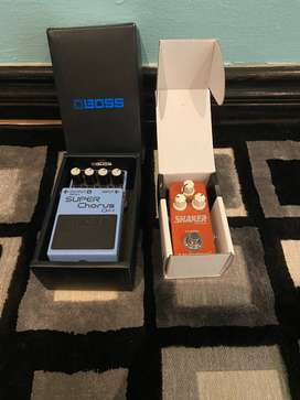 Guitar Pedals + Pedalboard + Power Supply