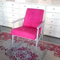 """Fotel typ 300-190 """"Liski"""" projektu H. Lis PRL. Vintage Loft Industial"""