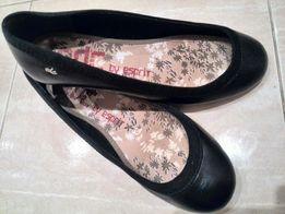 СРОЧНО! Черные балетки ESPRIT туфли 37р ( не кожа) оригинал, туфли