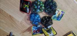 Assorted marbles packs