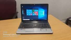 Acer Emachine Intel Core i5 4gb ram and 500gb Hdd clean laptop