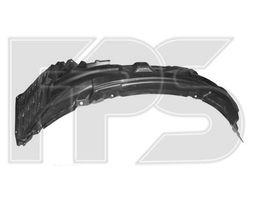 Новые передние подкрылки, локер Mitsubishi Lancer X Ланцер 10, спойлер