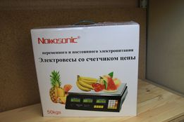 Есть самовывоз Торговые электронные весы Nokasonic до 40 кг