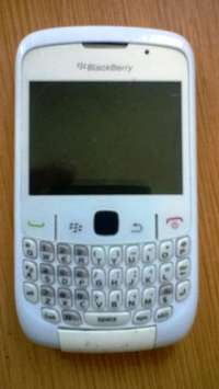 Image of White Blackberry 8520 Curve For Spares