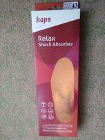 Wkładki do butów KAPS Relax Shock Absorber rozm 43