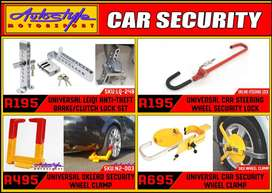 Vehicle security devices, keep your vehicle safe. DIY. COST EFFECTIVE.