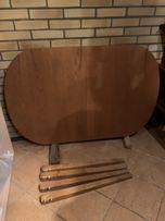 Stół drewniany 90x 120
