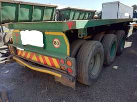 Used 2008 SA Truck Bodies Tri Axle Trailer for sale
