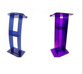 Acrylic Church Podiums With Angled Tops On Sale