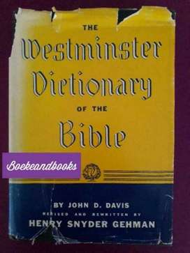 The Westminster Dictionary Of The Bible - John D Davis - Henry Gehman