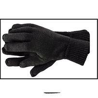 Подарок на 8 марта. Перчатки женские вязаные двойные (шерсть)
