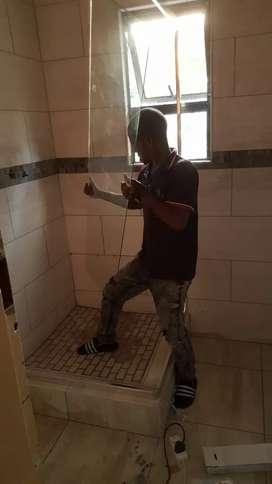 Tiling  and  plumbing