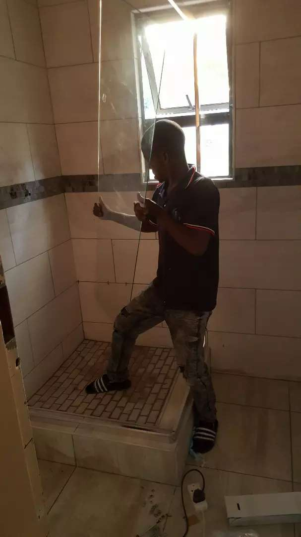 Tiling  and  plumbing 0
