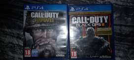 Call of duty ww2 and black ops 3