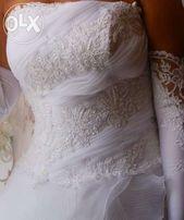 Продам свадебное шикарное супер платье