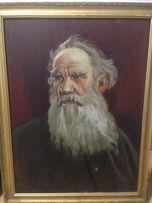 Портрет Толстого, масло