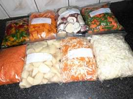 Chopped Vegetables For sale