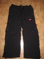 Тёплые брюки на синтепоне