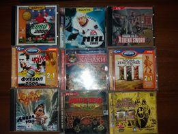 Продам CD и DVD диски с играми