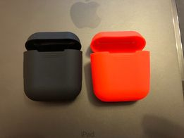 Чехол силиконовый на Air Pods Apple  Аирподс silicone case AirPods
