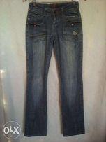 джинсы женские красивые б\у продаю за ненадобностью р.38