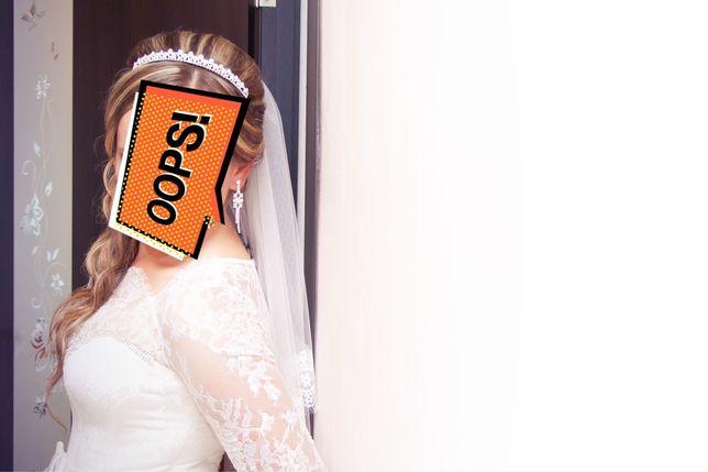 Весільне плаття ,гарне, стильне шампань не дорого ідеальний стан Тернополь - изображение 5
