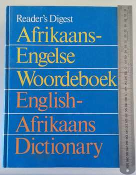 Reader's Digest Afrikaans-English Dictionary