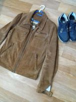 мужская куртка, натуральный замш vera pelle