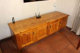 Beautiful solid Oregon TV Unit (one of a kind), own a piece of history