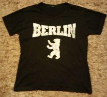 Podkoszulek BERLIN ładny ,T-shirt XL czarny