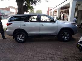Grey Toyota Fortuner GD-6 2.4  SUV 7-seater