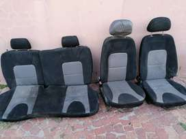 2014 GEELY CROSS 1.5I LC SET OF FRONT AND REAR SEATS WITH HEADRESTS