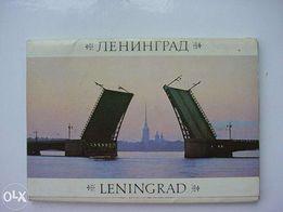 Комплект из 28 цветных картинок - Ленинград, 1987