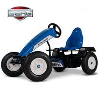 Gokart na pedały BERG Extra Sport BFR niebieski, do 100 kg. NOWY