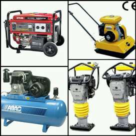 Repairs and servicing done on all types of generators, Rammers etc