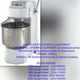 Brand new dough mixers/ bakery equipment