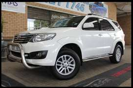 Toyota Fortuner 3.0 D-4D 4X4 Automatic ( 2013 )