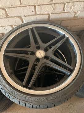 Tyres and mags for sales