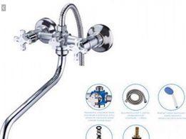 Смеситель для ванны полный комплект Бюджет Киев-склад Jik 7 есть выбор