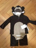 Новий костюм ,набір(боді,боди,бодик,кофта,штани,штанишки) спортивний